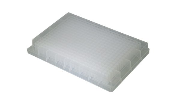 120µl 384-Well Deep-Well Plates, Clear,SQ Well, V-bottom, NS, 10/PK, 100/CS