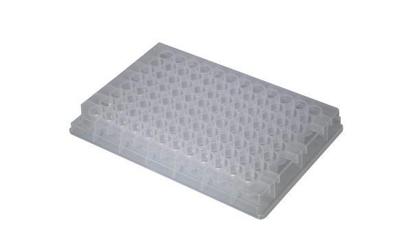 330µl 96-Well Plate, Clear, Round well,V-bottom, Sterile, 10/PK, 10PKS/CS